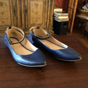 Old Navy navy blue flats